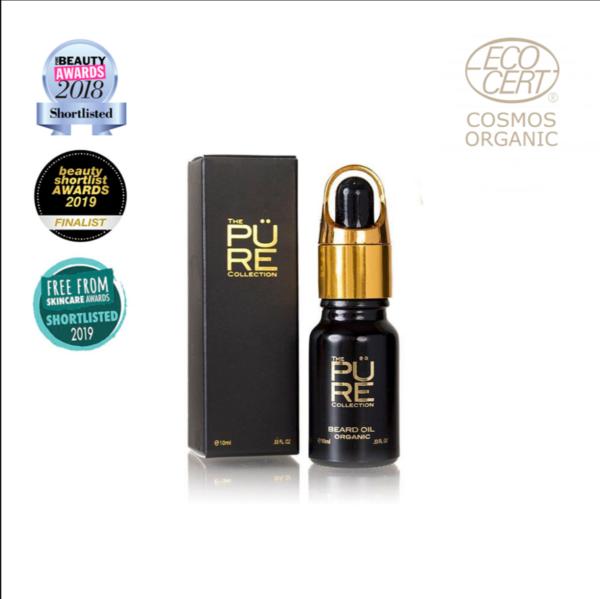 PURE organic beard oil